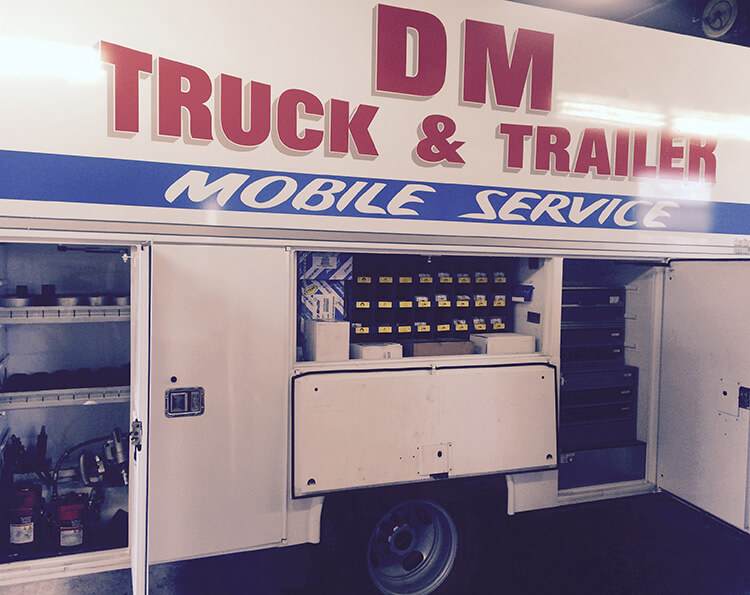 DM Truck & Trailer Services, Inc. mobile service 1
