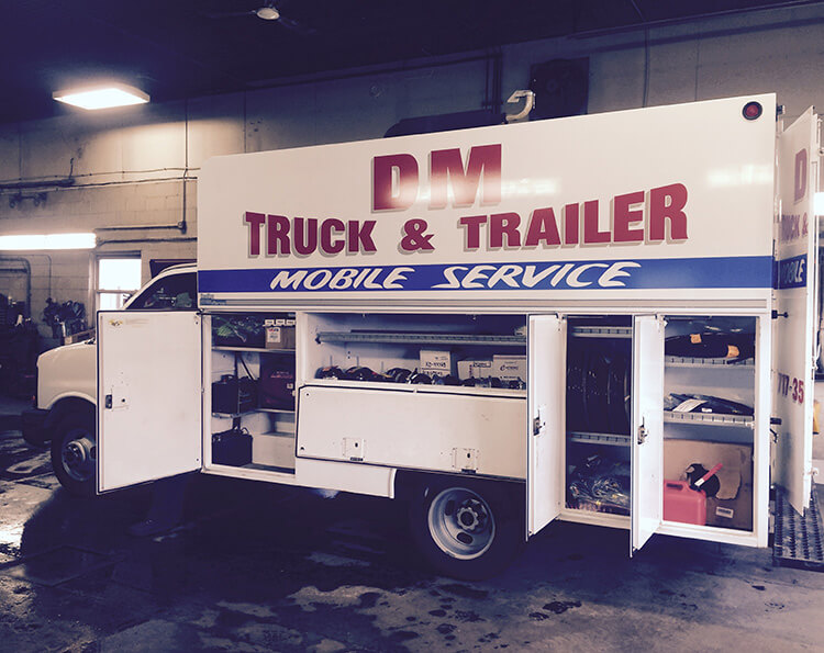 DM Truck & Trailer Services, Inc. mobile service 3